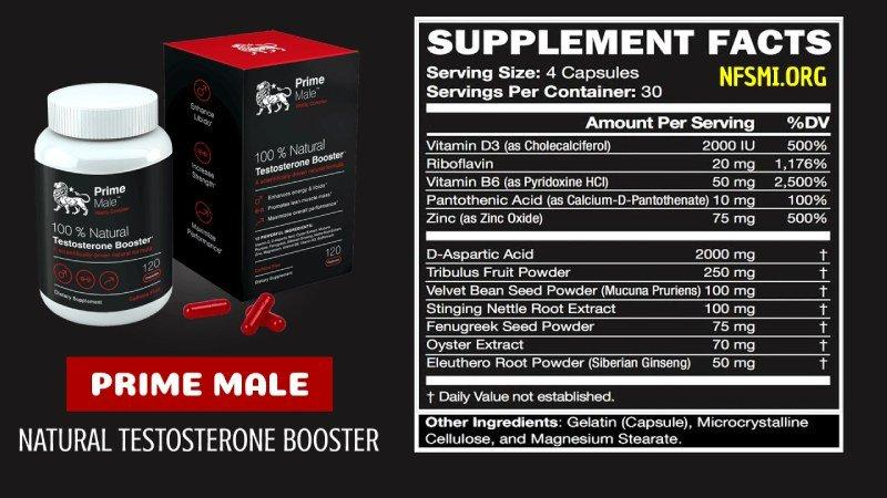 Prime Male - Testosterone Boosters